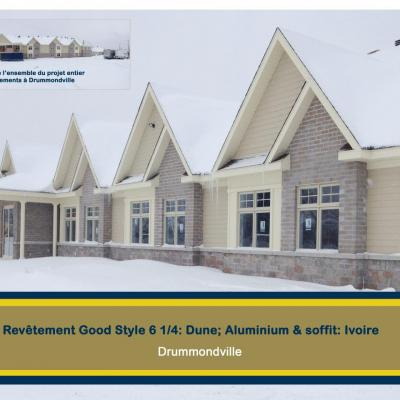 64 logements Drummondville good style