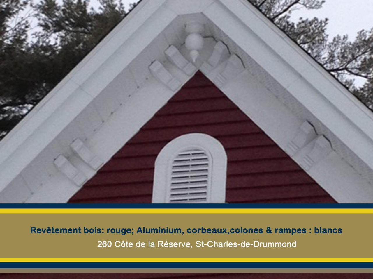 Corbeaux 260 Côte de la Réserve St-Charles de Drummond
