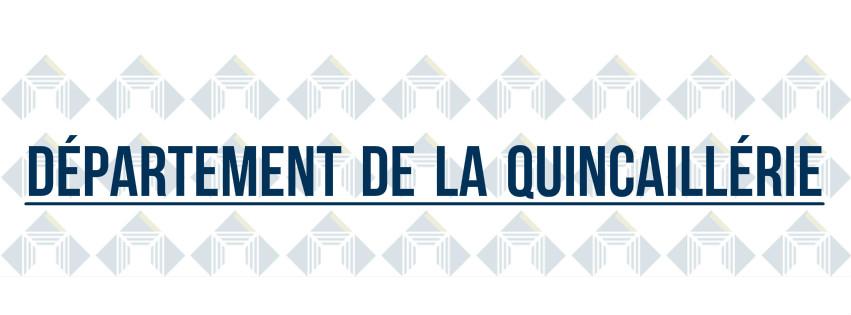 Departement de la quincaillerie