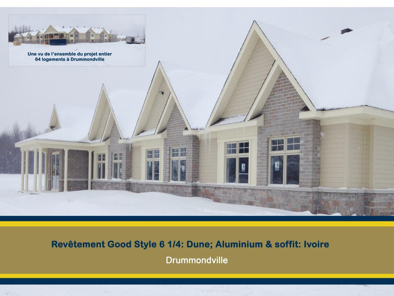 64 logements Drummondville good style (canexel)