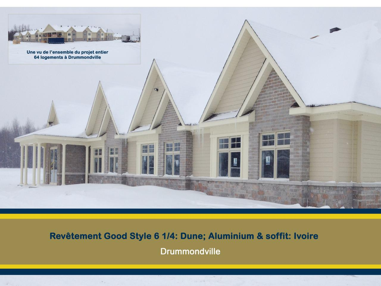 64 logements Drummondville good style