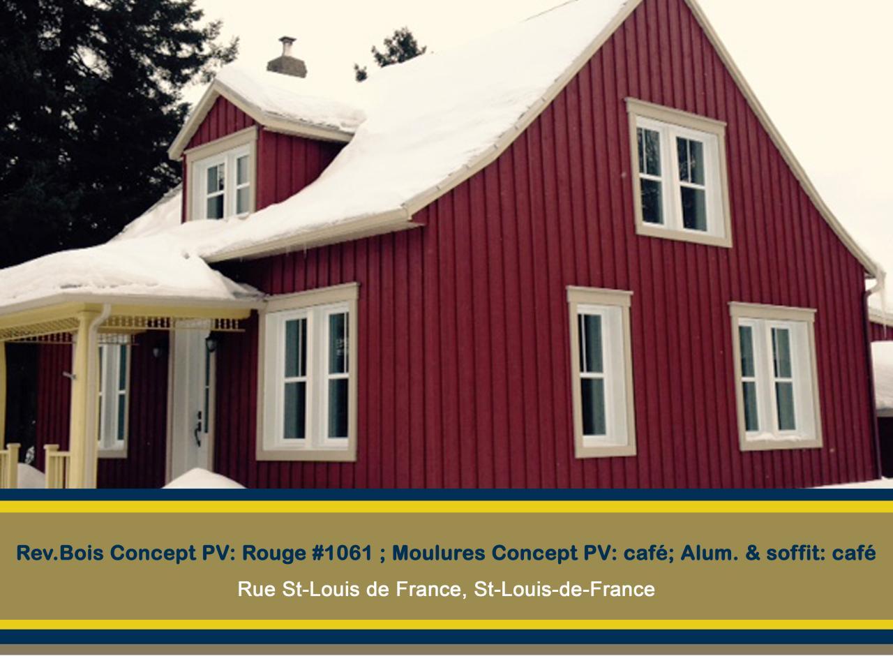 BOIS CONCEPT PV ST-LOUIS DE FRANCE