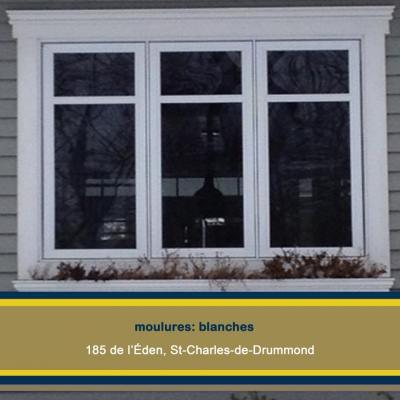 Moulures, 185 de l'Éden, St-Charlesde-Drummond