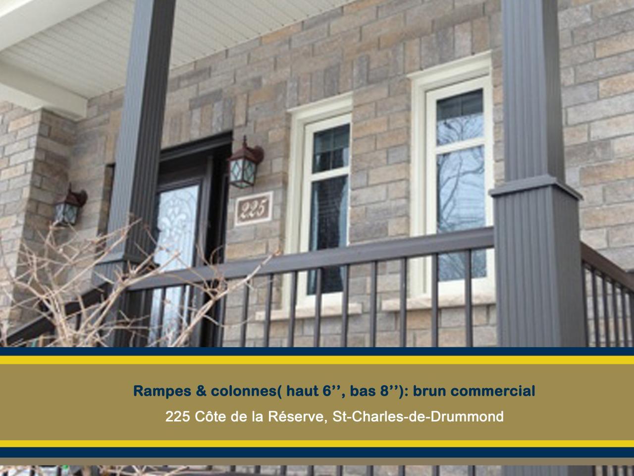 Rampes 225 Côte de la Réserve St-Charles de Drummond