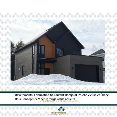 Réalisation 2018 St-Laurent et PV à Trois-Rivières