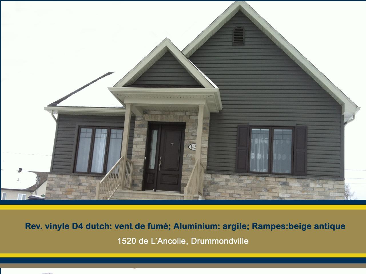 vinyle-1420 de l'Ancolie-Drummondville